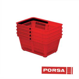 Porsa Indkøbskurv plast