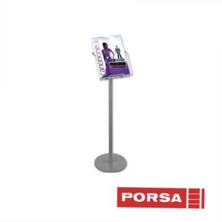 Porsa Brochurestander A4 med 1 rum