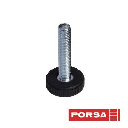 Porsa Stilleskrue M10 base Ø 32 mm