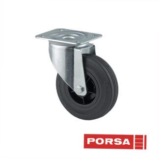 Porsa Gummihjul Ø 125 mm