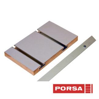 Porsa Sideliste til panelvæg vinkel 10x20 mm