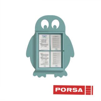 Porsa Infoskab udendørs Pingvin dybde 3 cm