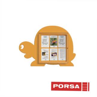 Porsa Infoskab udendørs Skildpadde dybde 3 cm