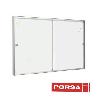 Porsa Infoskab indendørs Classic skydelåger dybde 6 cm