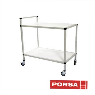 Porsa Rullebord med Ø 75 mm hjul
