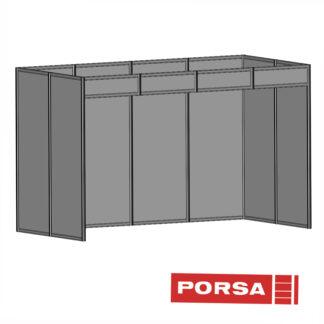 Porsa Udstillingsstand 2x4 meter