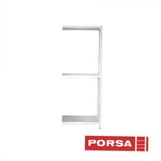 Porsa Tilbygningsfag profilreol dybde 40 cm