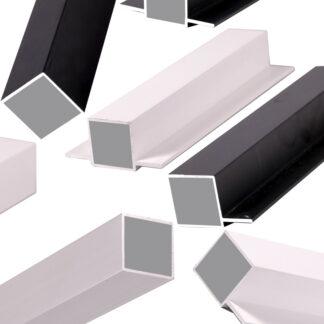 Aluprofiler firkant