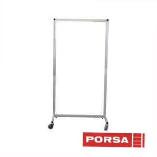 Porsa Skærmvæg med hjul og akryl
