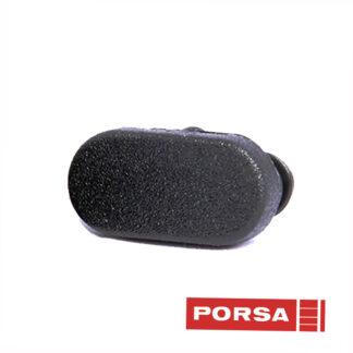 Porsa Dupsko oval med fladt hoved