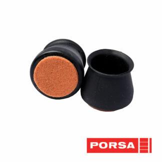 Porsa Dupsko Silicone med filt Ø30-45 mm